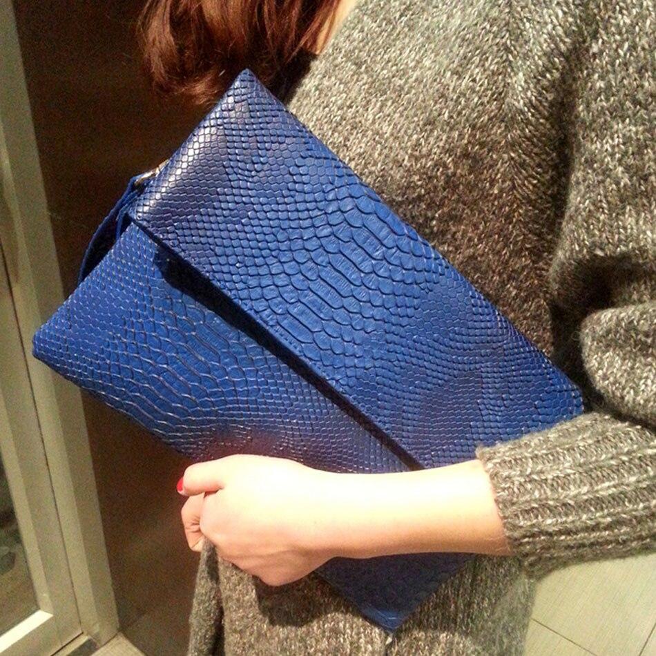 Serpentine envelope lady bag 2019 new personality handbag fashion chain single shoulder oblique straddle small bag retro handbag