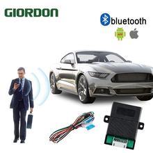 Universal Smart Key Smartphone Remote Start Stop Control Car Alarm
