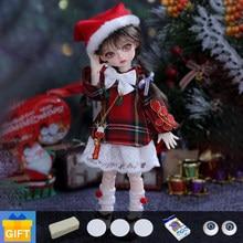 Shuga fada lcc muki macaron 1/6 bjd boneca resina brinquedos para crianças presentes surpresa para meninas meninos aniversário yosd boneca bola articulada boneca