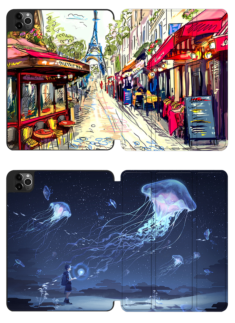 TPU 12.9 Back+PU iPad Leather Soft A2229 Tablet For A2233 Pro Case inch 2020 MTT New