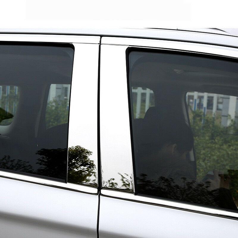 Chrome Door Window Glass Frame Molding Trim Cover for 06 Chevrolet Captiva