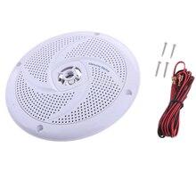 Белая Водонепроницаемая круглая акустическая звуковая система для лодки, морской Автомобиль RV