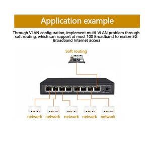 Image 2 - 8 porte Gigabit Switch Gestito Switch Ethernet Gestito con 8 porte 10/100/1000M VLAN