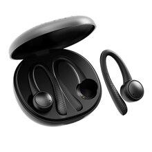 TWS 5.0 bezprzewodowe słuchawki Bluetooth T7 Pro radio hifi słuchawki bezprzewodowe zestaw słuchawkowy dla aktywnych z etui z funkcją ładowania do telefonu