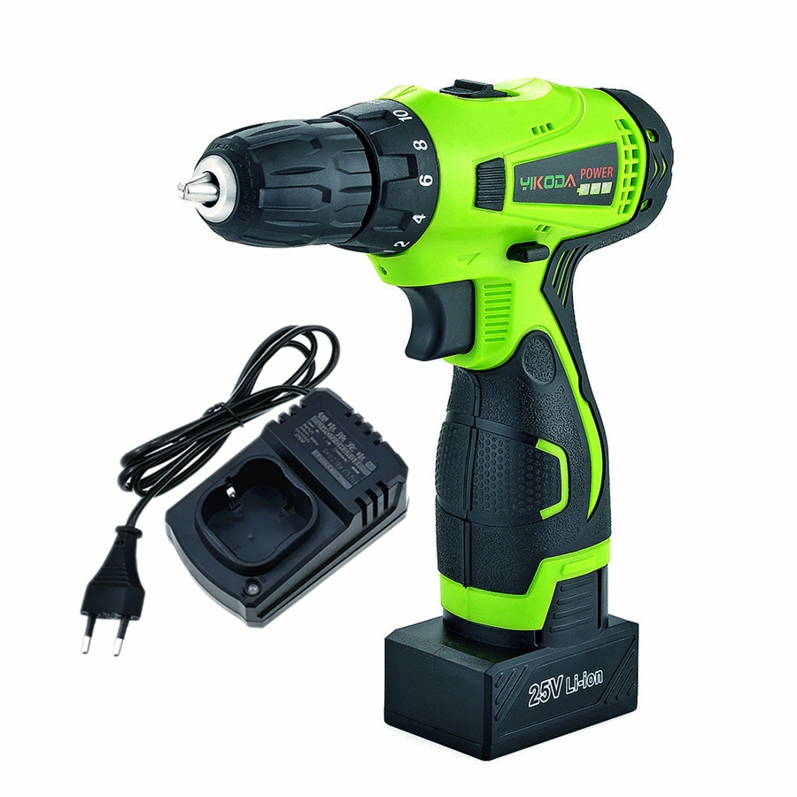 25v Cordless Hand Drill Rechargeable Screwdriver Electric Drill One Lithium Battery Carton Pack