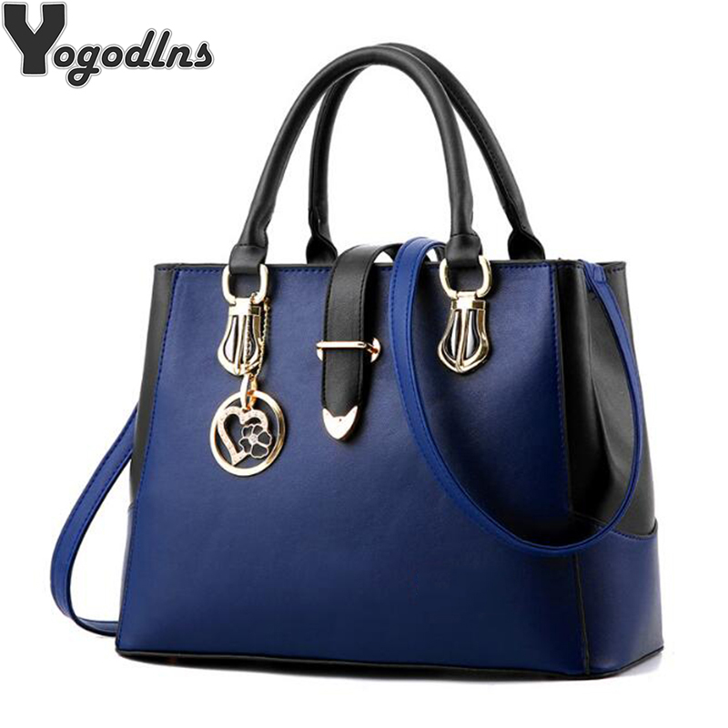 2019 Sweet Handbags For Women New Fashion Designer PU Leather Shoulder Bags Female Top-Handle Tote Crossbody Messenger Bag