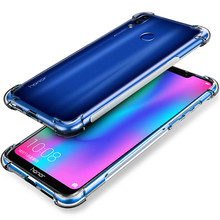 Ultra Thin Soft Clear Silicone Transparent for Honor 8x 9 10 Lite case on Honor 8x 10i 9 lite 10  Phone Slim Full Protector case чехол для honor 9 lite onext silicone transparent 70565