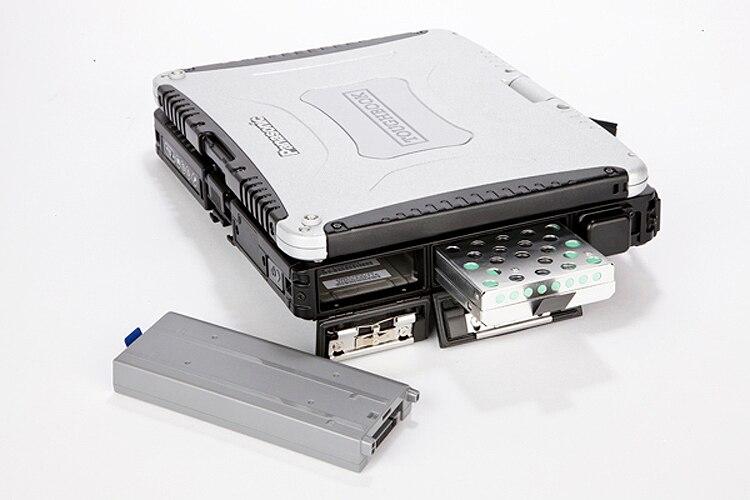 Б/у Panasonic TOUGHBOOK CF-19 i5 сенсорный экран 4 ГБ Ram HDD/SSD Win7Pro Win10Pro автоматический диагностический компьютер DHL бесплатно БЫСТРО ДОСТАВКА