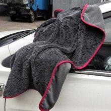 1 pezzo di Alta Qualità Intrecciato Panno di Lavaggio Auto Asciugamano 60*90cm 40*60cm Asciugamano In Microfibra Auto asciugamano Assorbente Asciugamano Per Car Wash Auto