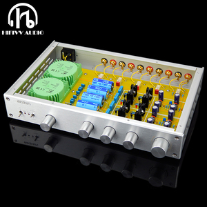 Image 1 - 2020 new F1 Tone tune preamplifier for hifi audio amplifier FV 2020 OP AMP preamp LME49710 JRC5534 AD797 OPA627BP MUSES03