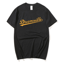 High Quality Fashion Mens Dreamville T Shirts Short Sleeve T-shirt Mens Solid Casual Cotton Tee Shirt Summer Clothing