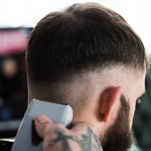 Image 2 - barber finishing electric shaver for men face stubble rechargeable beard electric razor foil bald shaving machine hair shaver