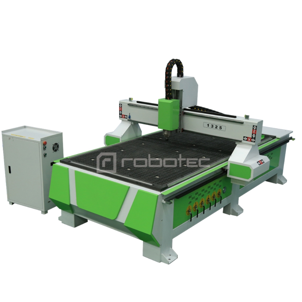 Hot Sale Plywood Cnc Milling Machine Price For Sale/Heavy Duty Cnc Router 1325 With T-solt Table Wood Cutting Machine