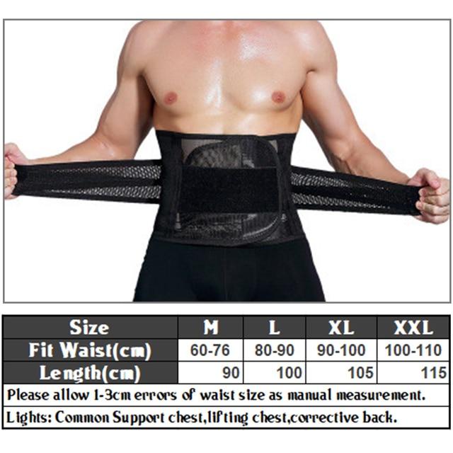 Hot Unisex Body Shaper Waist Trainer Tummy Control Belt Slimming Strap Fitness Sweat Shapewear for Fat Burner Waist Trainer 5