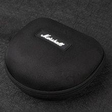 For Marshall Shockproof EVA Headphone Case Portable Storage Headset Bag Earphone Accessories Zipper Box For Marshall