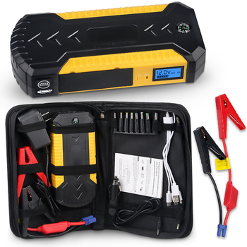 88000mAh Auto Emergency Starting Device 12v 600A Portable Car Jump Starter Power Bank Battery Booster With USB Charger Led Light emergency 12v car lithium battery jump starter with anti over charge clamps dual usb output