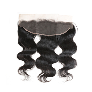 Image 2 - Ali Queen Hair Brazilian Body Wave 13x4 Lace Frontal Ear To Ear Pre Plucked With Baby Hair Remy Human Hair Free Part