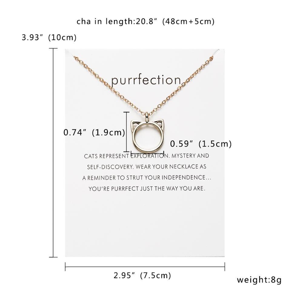 Rinhoo бабочка слон жемчуг любви золотого цвета Кулон ожерелье s цепочки на ключицы ожерелье модное ожерелье женские ювелирные изделия - Окраска металла: NC18Y0300