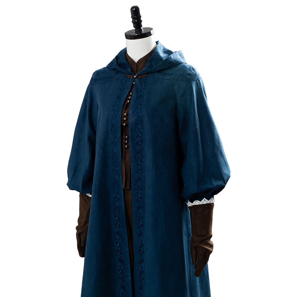 Princesa cirilla cirilla fiona elen cosplay traje