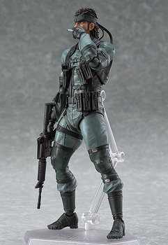 Figma 243 METAL GEAR SOLID 2: SONS OF LIBERTY 15cm Snake PVC Action Figure Collectible Model Toy 3