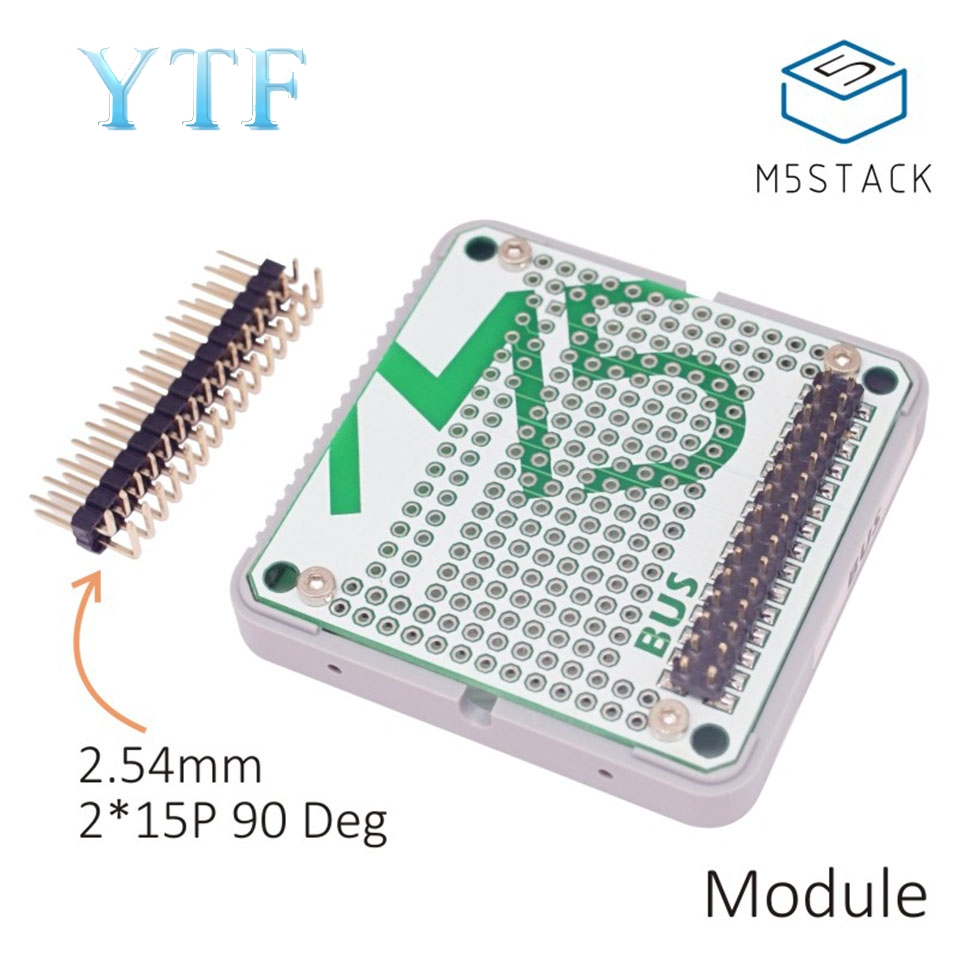 M5Stack Bus Stacked Universal Bus Extension Board Circuit Design Support