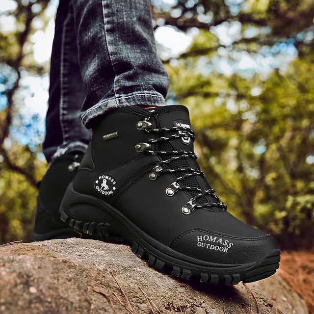 2020 Men Waterproof Hiking Shoes Military Tactical Boots DELTA Outdoor Breathable Climbing Shoes Non-slip Trekking Sneakers Male 3