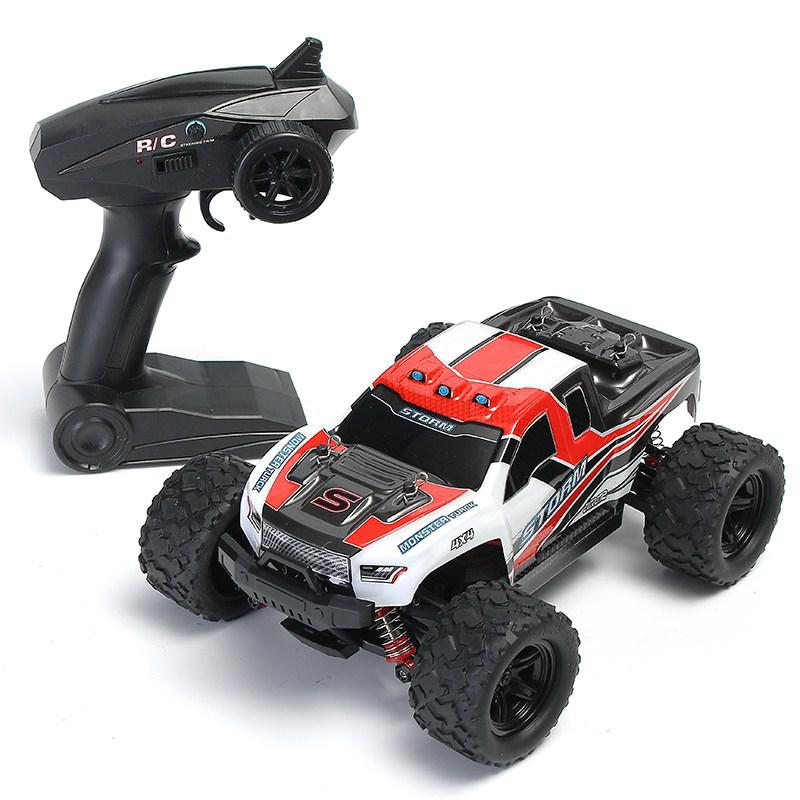 RCtown HS 18301/18302 1/18 2.4G 4WD High Speed Big Foot RC Racing Car OFF-Road Vehicle Toys
