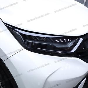 Lsrtw2017 ТПУ Автомобильная Прозрачная черная пленка для фар Защитная Наклейка для Honda Civic crv accord cr-v vezel hr-v city odyssey