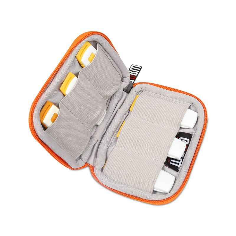 Portable USB Flash Drives Carrying Case Storage Holder Bag Travel Protection Pouch USB Wire Drive Container Case