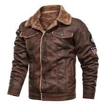 Nowa moda męska skórzana kurtka tanie tanio CN (pochodzenie)