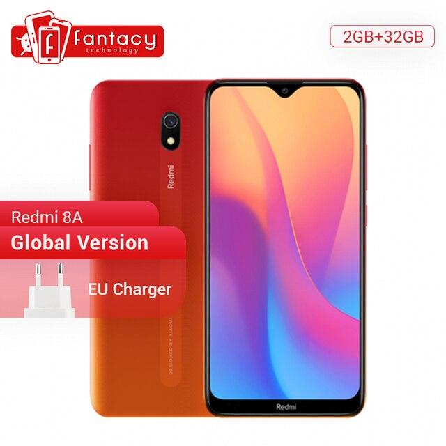 """הגלובלי גרסת Xiaomi Redmi 8A 8 A 2GB 32GB 6.22 """"Snapdargon 439 אוקטה core טלפון נייד 5000mAh 12MP מצלמה Smartphone"""