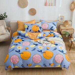 Image 3 - Solstice Home Textile Duvet Cover Pillow Case Flat Sheet Panda Cartoon Bedding Set Kid Boy Teen Girl Bed Linens Twin Full 3/4Pcs