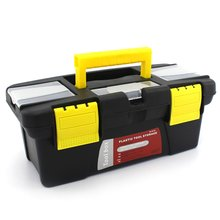 Portable S/M/L Size Plastic Hardware Toolbox Household Multifunction Maintenance Car Storage Box Anti-fall
