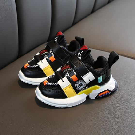 Children Shoes Boys Sneakers Girls Sport Shoes Child Leisure Trainers Casual Breathable Kids Running Shoes