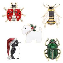 2020 Insect Rhinestones Sew on Patches for Clothing DIY Animals Sequins Stripes Applique Clothes Stickers Beaded Bee Badges zotoone iron on cute alien patches for clothing t shirt cool badges embroidered diy cool patch sew stripe on clothes applique g