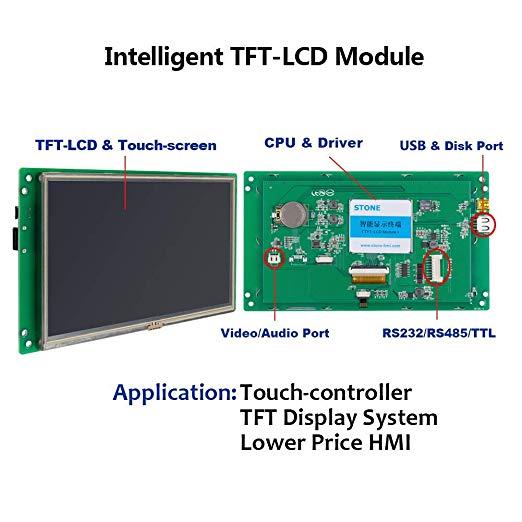 10,1 TFT lcd сенсорный модуль с поддержкой платы контроллера Arduino/PIC/любой микроконтроллер - 2