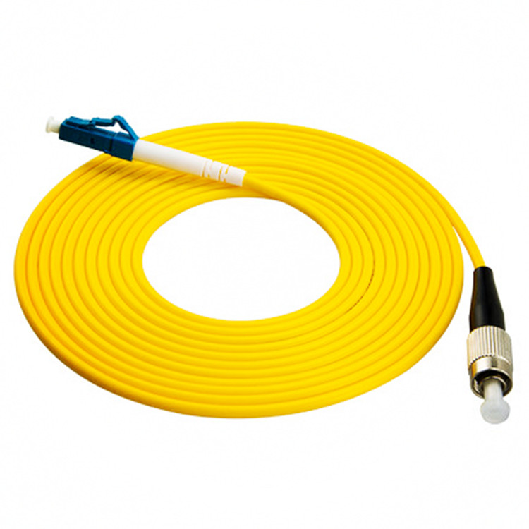10PCS/bag FC/ UPC-LC/ UPC Simplex Mode Fiber Optic Patch Cord Cable 2.0mm  FTTH Fiber Optic Jumper Cable
