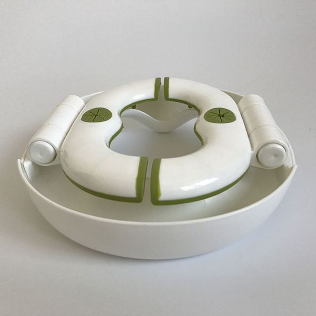 2 In 1 Toilet Seat.Foldable Baby Toilet Child Outdoor Portable Toilet Car Toilet 2 In 1 Toilet Seat