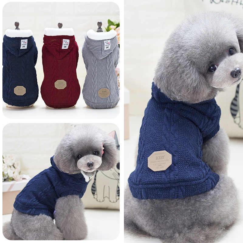 Kostium kot bluza z kapturem ciepłe ubrania dla psów koty garnitur dla zimnej pogody produkty dla zwierząt strój Disfraces Gato kot dostarcza JJ60MJ