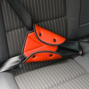 Image 4 - Araba bebek koltuk emniyet kemeri kapak sağlam ayarlanabilir üçgen çocuk güvenliği emniyet kemeri ped klipleri bebek çocuk koruma araba styling