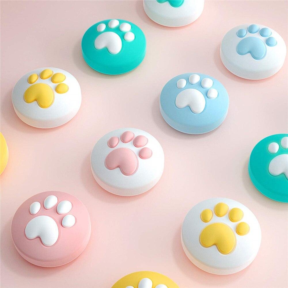 IVYUEEN For NintendoSwitch Lite Animal Crossing Analog Thumb Stick Grip For Nitendo Swith Joy Con JoyCon Controller Joystick Cap