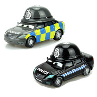 Disney Pixar Cars The Queen 1:55 Metal Diecast  English Hat Police Model Car Toys for Boys Children'gift