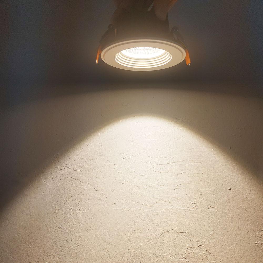 Cheap square downlight