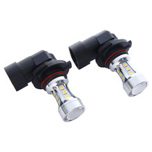 2PS H10-18SMD3030 H10 LED Fog Light DC12-24V 5W 600LM Turn Signal Headlights Super Bright High Quality Bulb