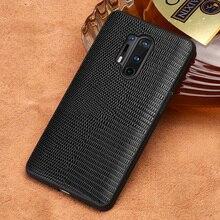 Original Lizard Grain Leather Phone Case For Oneplu