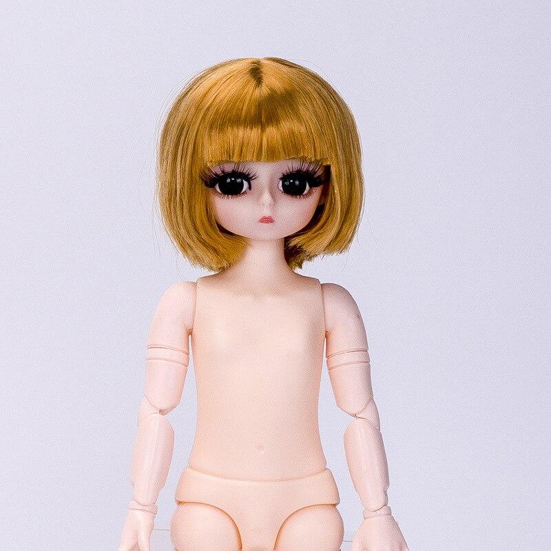 Новинка 28 см BJD кукла Изысканная Обь шарнирная Обнаженная девушка тело 4D настоящие глаза длинные ресницы Модная Кукла девочка игрушка Рождественский подарок|Куклы|   | АлиЭкспресс