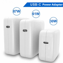 29W 30W 61W 87W USB C Laptop Power Adapter Type C PD Charger For Latest Macbook 13 15 inch A1706 A1707 A1707 for iphone iPad Pro