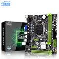 Jingsha H61 настольная материнская плата LGA 1155 mATX DDR3 до 16 Гб ОЗУ  USB2.0  SATA2.0 VGA  HDMI для i3  i5  i7 2 и 3-го поколения
