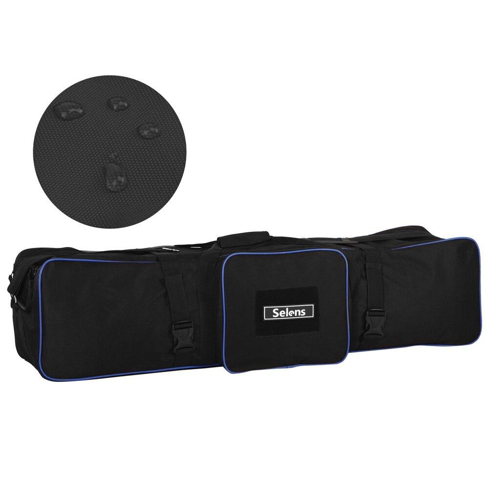 Meking Equipamento de Fotografia Padd Zipper Bag 105 cm/43in para Stands de Luz Chuvas tripé fotografia carregam sacos à prova d' água