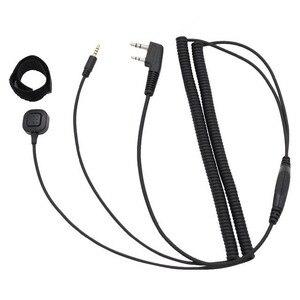 Image 2 - NEW V3 V6 V8 V1098a V5s Bluetooth casque casque câble de connexion spécial pour Kenwood Baofeng UV 5R UV 82 GT 3 Radio bidirectionnelle